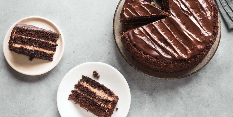 Homemade chocolate cake recipe