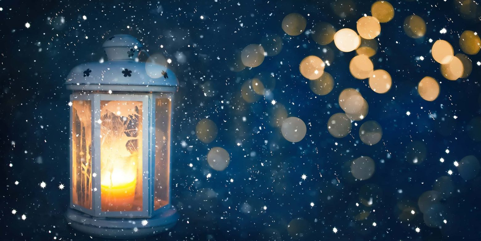 Dreamy Christmas winter getaway