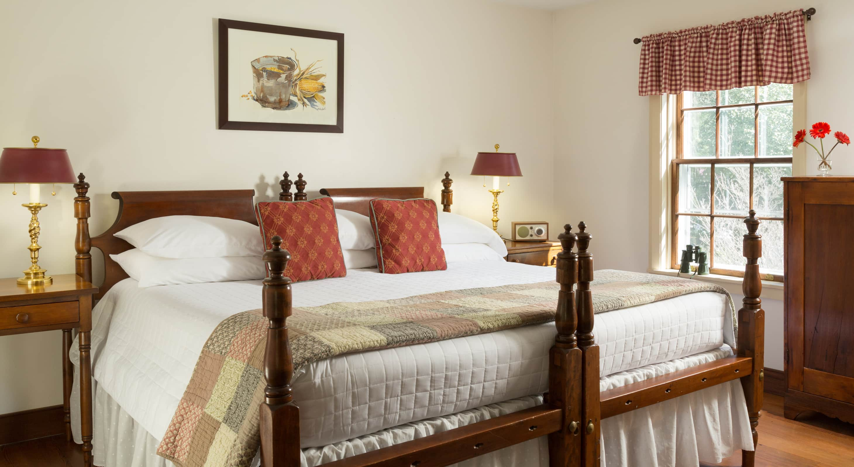 Fairy Hill Suite at our Romantic Maryland bed and breakfast