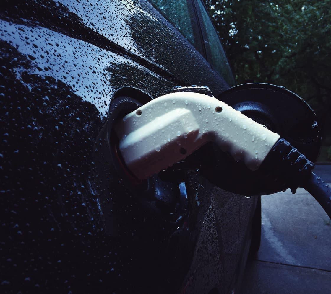 Electric car charging at Brampton Inn