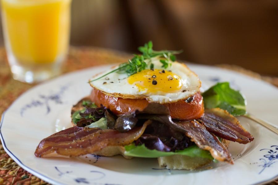 Breakfast Sandwich at Brampton Inn