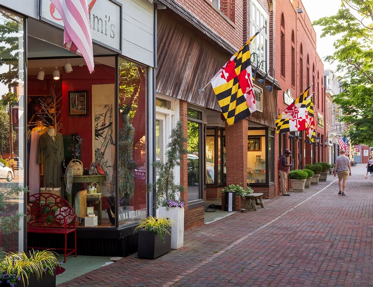 shops in downtown Chestertown